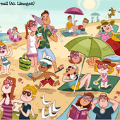 AT THE BEACH - 5e by Isabelle Beaubreuil on Genial.ly