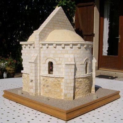 Chapelle romane en pierre