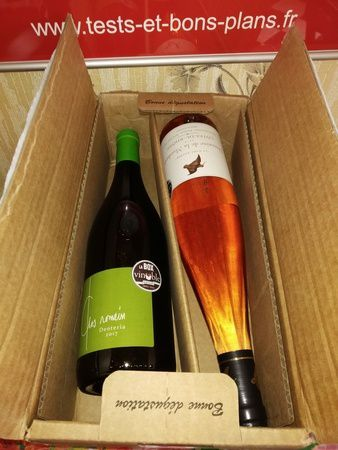 unboxing de la Box Gourmande Vinoble @ Tests et Bons Plans