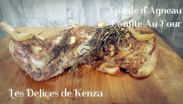 Épaule d'Agneau Confit au Four en Video