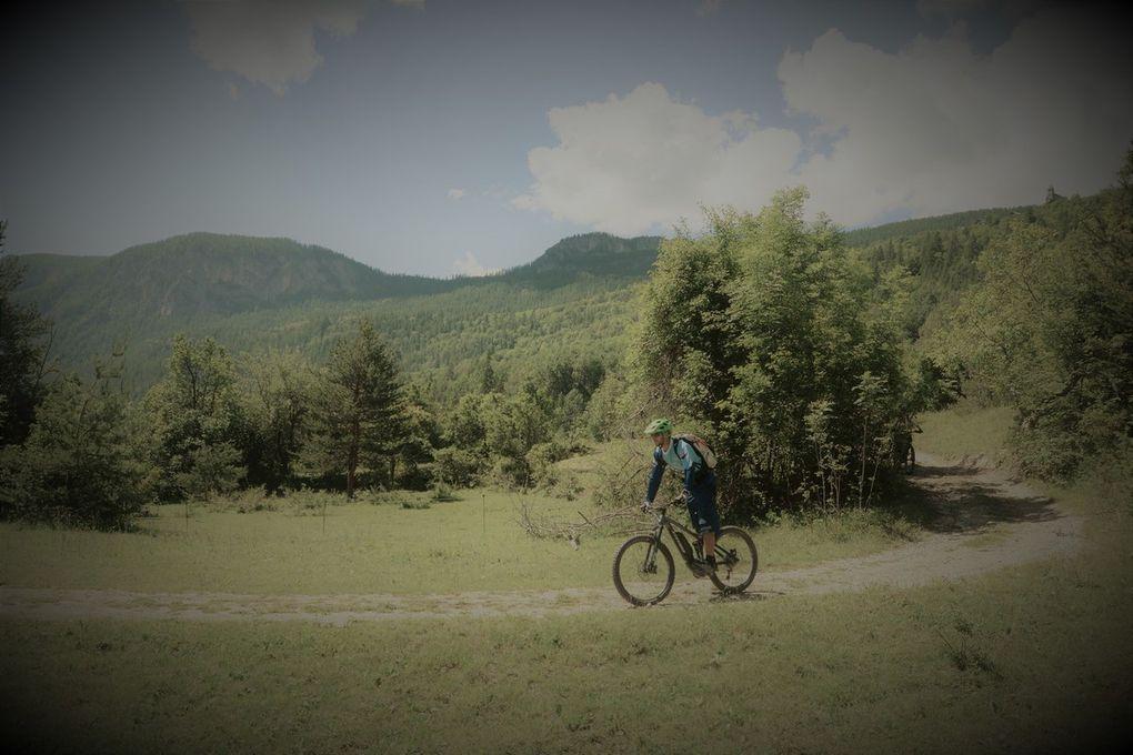 Nous avons parcouru une vingtaine de kilomètres, avec quelques belles montées, sans être épuisés.