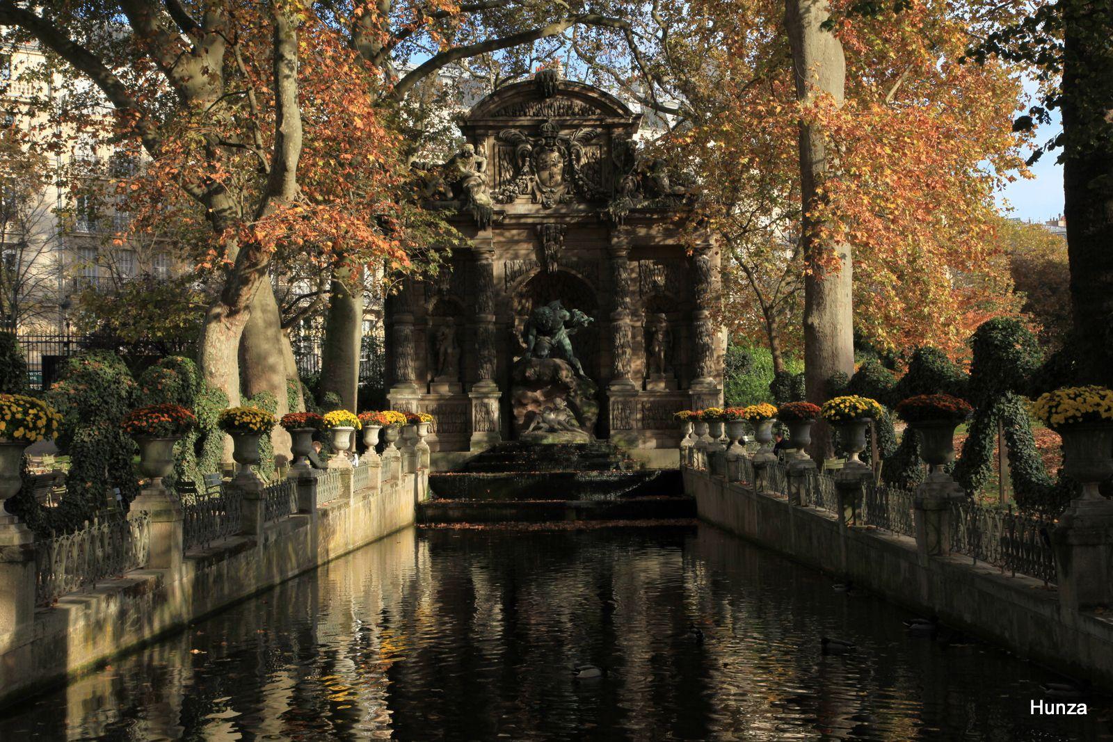 Paris, fontaine Médicis