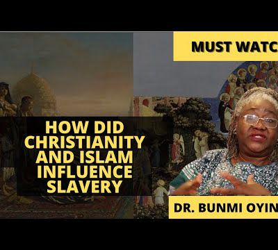 Pan African Series - How did Christianity and Islam influence intercontinental slavery ?