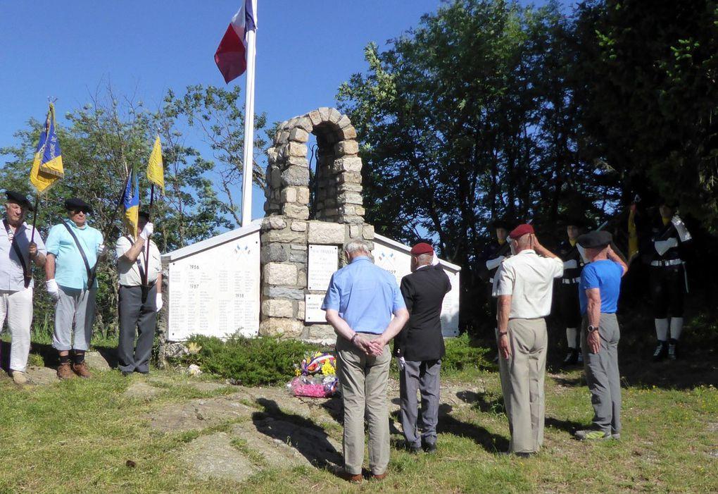 Journée à Chamrousse, cérémonie à Notre Dame de Tirourda