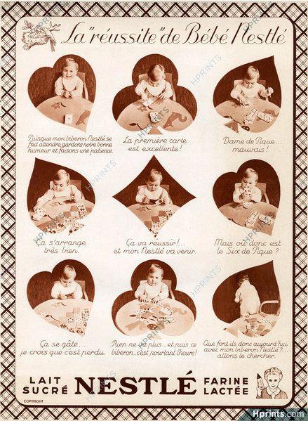PUBLICITES : LES BEBES ET LES ENFANTS DANS LES ANCIENNES PUBLICITES... Suite 3
