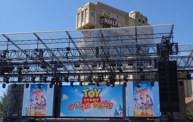 Les Toy Story Play Days et l'univers Toy Story à Disneyland Paris