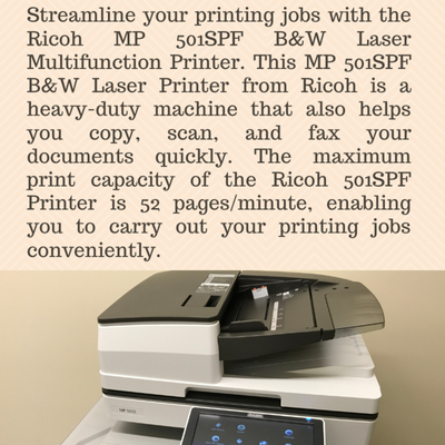 Ricoh Multifunction Printers |From JTFBUS