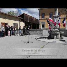 Saint André les Alpes : Un grand absent déploré à la commémoration du 8 mai