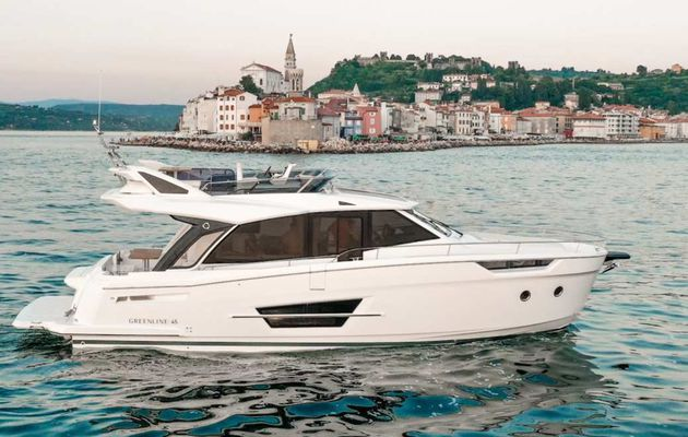Greenline 45 Fly launched at the Cannes Yachting Festival