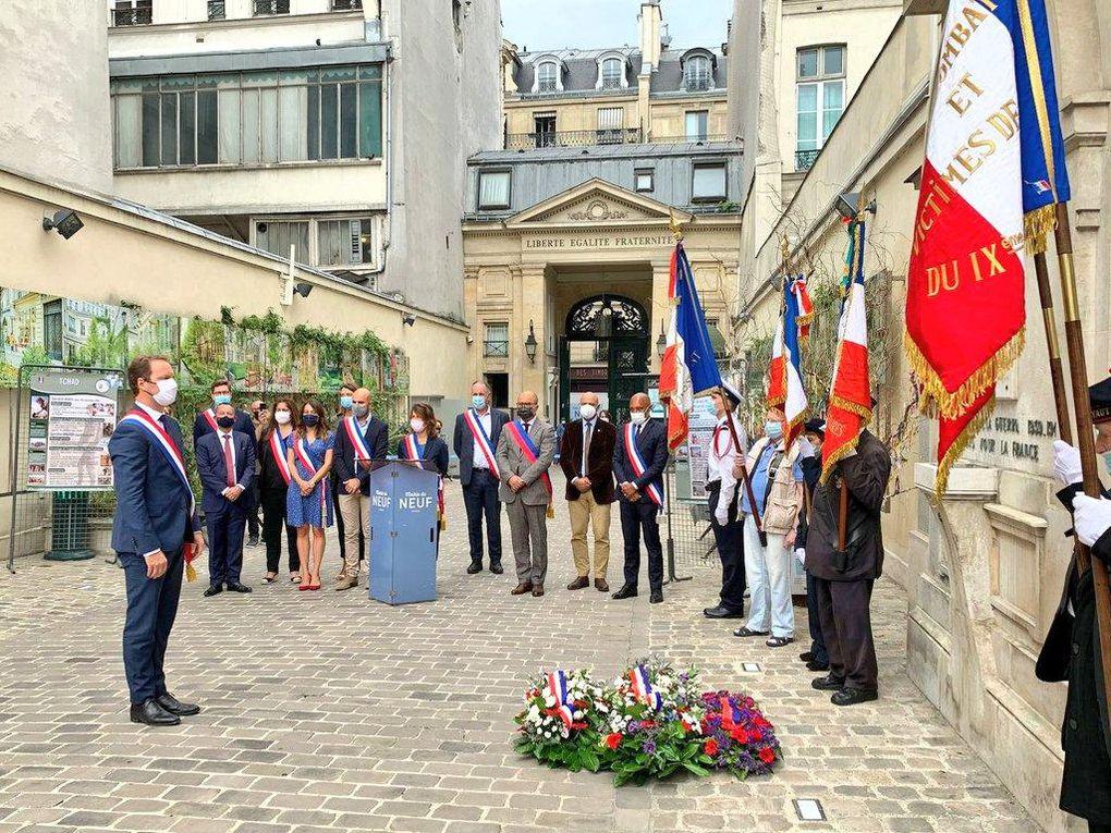 N'oublions jamais celles et ceux qui se sont battus pour notre liberté. Honorons leur souvenir. Avec Sylvain Maillard, Delphine Bürkli, Alexis Govciyan, Sébastien Dulermo...