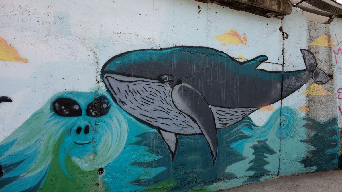 Street Art : Graffitis & Fresques Murales 08917 Badalona (Catalunya)