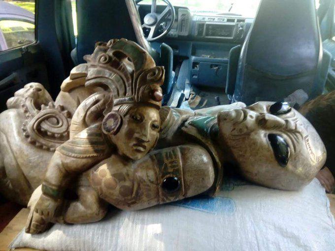Des sculptures aliens découvertes au Mexique ?
