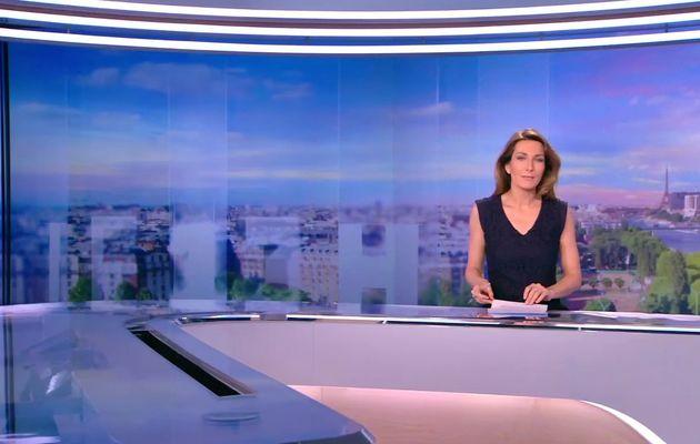 LE 20H WEEK-END de TF1 HD présenté par ANNE-CLAIRE COUDRAY le 2016 03 26