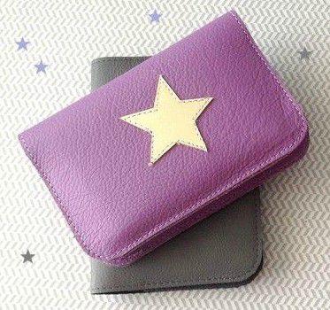 Création cuir: un porte carte express