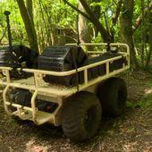 """VIDÉO. Les """"robots-mules"""", ces drones terrestres testés par l'armée française"""