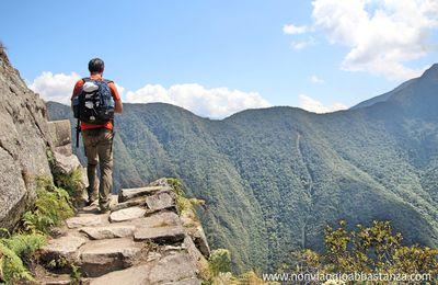Trekking in Perù - Scalare la montagna Wayna Picchu