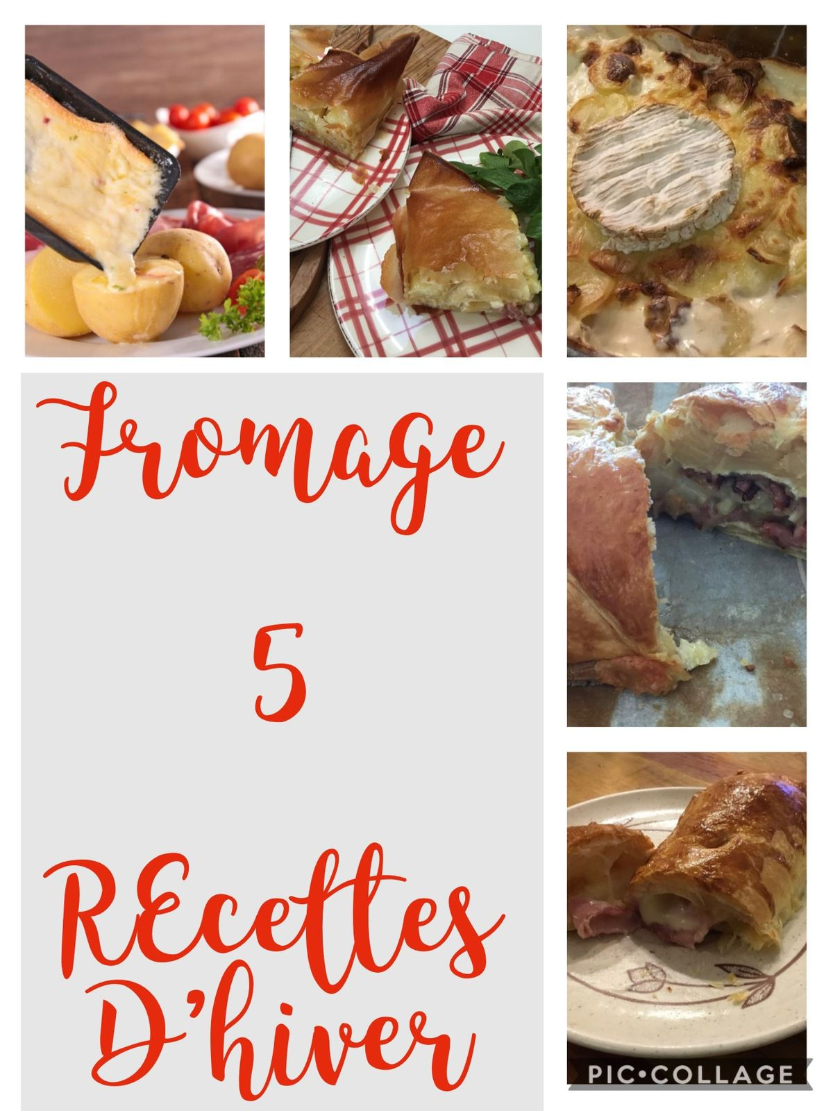 Fromage, 5 recettes d'hiver
