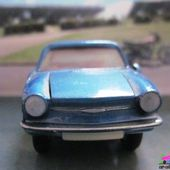 SIMCA 1000 / 1200 COUPE BERTONE EUROPARC 1/43 CIJ - car-collector.net