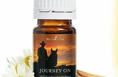 """Le mélange d huile essentielle """"Journey on"""""""