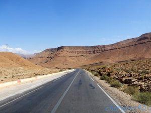 RN13, Gorges du Ziz (Maroc en camping-car)