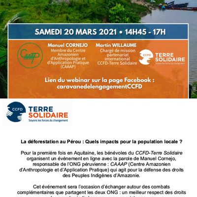 Rencontre CCFD Terre-solidaire