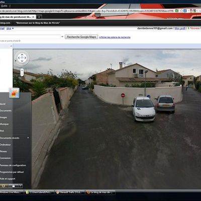 Street View: Nos maisons sont visibles