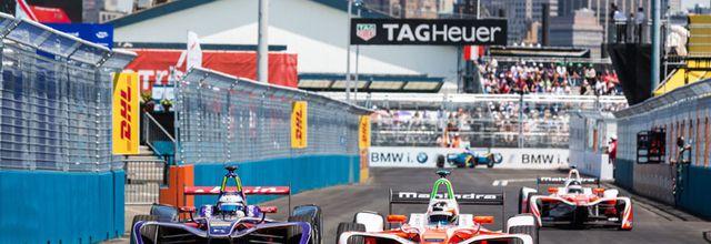 La finale de saison de Formule E, l'E-Prix du New-York à vivre ce week-end sur C8