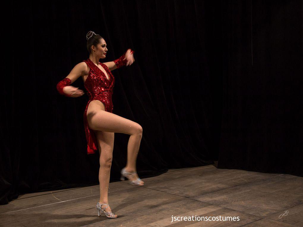 Costume de danseuse de Cabaret