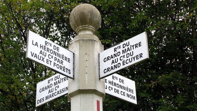 le carrefour du Grand Maréchal