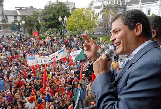 Victoire historique de Rafael Correa en Equateur