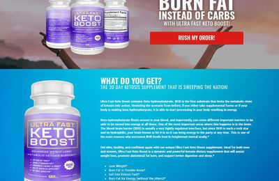 "Ultra Fast Keto Boost Reviews : ""Updated"" Price, Diet Benefits, Scam & Buy?"