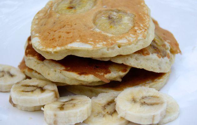 Pancakes à la banane (USA)