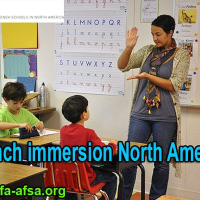 Wide spread benefits of French immersion in North America