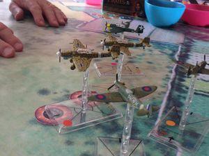 Les Stuka face à face aux Spitfire ...une boucherie ..