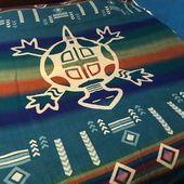 Couvertures à dessins des Andes - Sous les chênes ...