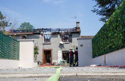 Comminges : une maison détruite par un incendie, un blessé grave