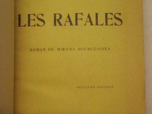 """J.-H. Rosny aîné """"Les Rafales"""" (Plon - 1912)"""
