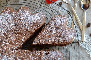 Gâteau moelleux noisettes café #sans gluten #sans beurre