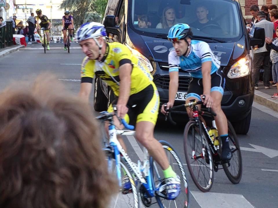 Nos jeunes au critérium aprés Tour de Lisieux