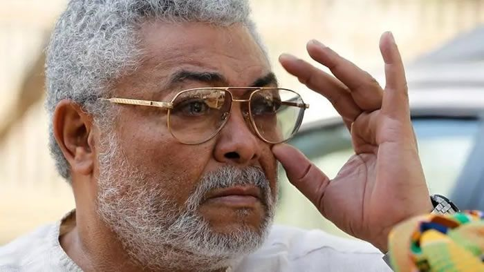 Jerry Rawlings (photo non datée). REUTERS