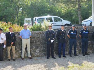 Commémoration de l'Appel du 18 juin, au Mémorial Doyen Gosse à St Ismier