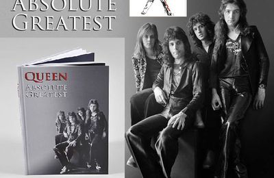 QUEEN ABSOLUTE GREATEST - DOUBLE DISQUE DE PLATINE AU ROYAUME-UNI