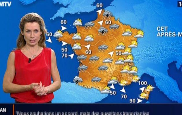 2013 11 09 - 14H26 - SANDRA LARUE - BFM TV - LA METEO