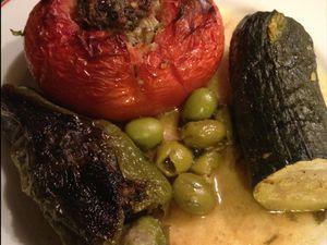 Légumes farcis à l'algérienne