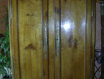 Restauration d'une armoire bretonne