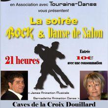Samedi 6 Février 2016 - Soirée Dansante aux Caves de la Croix Douillard à Amboise.