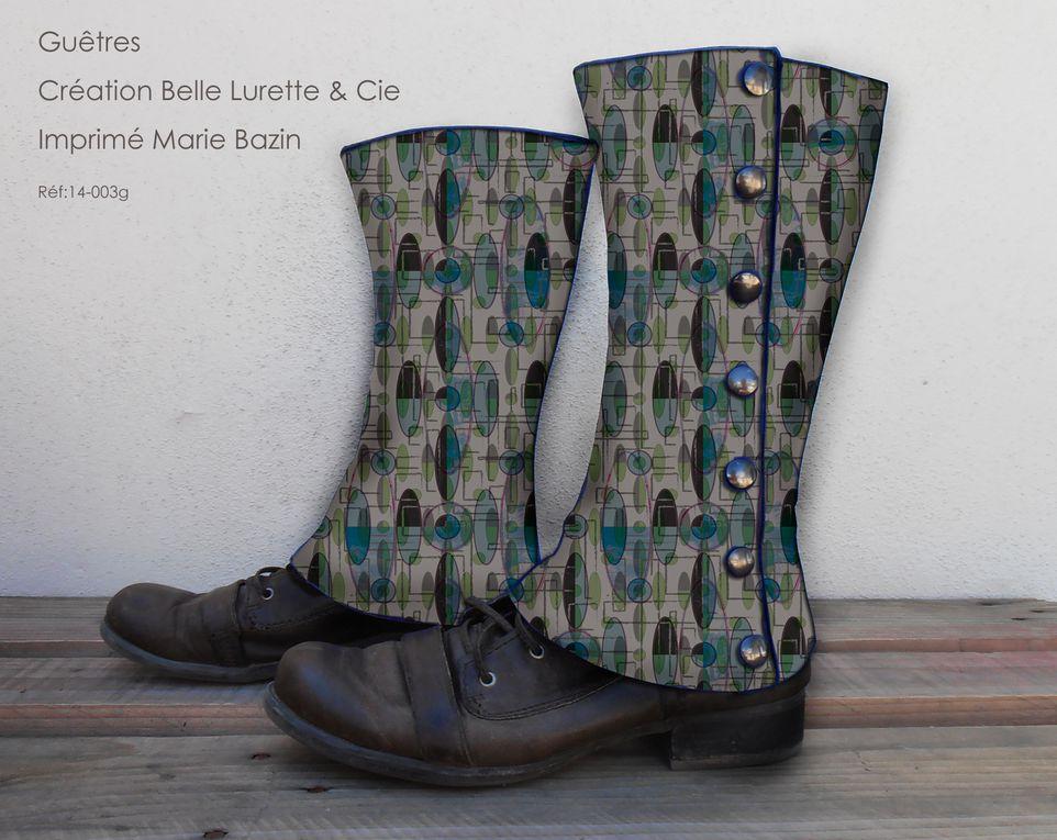 BELLE LURETTE & Cie et ses guêtres, Marie BAZIN et ses tissus...