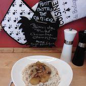 Aiguillettes de poulet, concombre, champignons façon asiatique - Chez Mamigoz