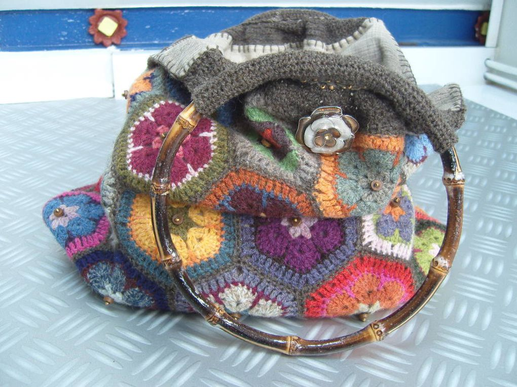 Album - Sac Hexagones African Flower
