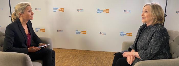 Une interview exclusive d'Hillary Clinton diffusée ce soir dans le JT de 20H de France 2